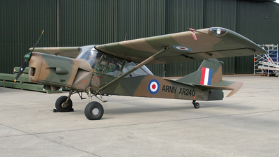 A picture of GBDFH - Auster AOP.9 - [AUS/177] - © Terry Figg