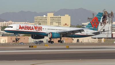 N910AW - Boeing 757-2G7 - America West Airlines