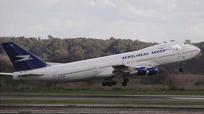 LV-OOZ - Boeing 747-287B - Aerolíneas Argentinas