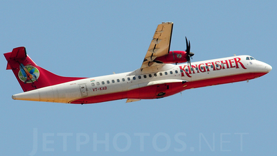 VT-KAB - ATR 72-212A(500) - Kingfisher Airlines