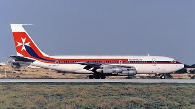 9H-AAK - Boeing 720-047B - Air Malta