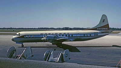 N5014K - Lockheed L-188A Electra - National Airlines