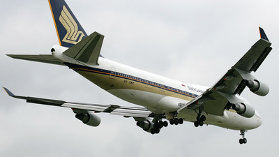 9V-SMZ - Boeing 747-412 - Singapore Airlines