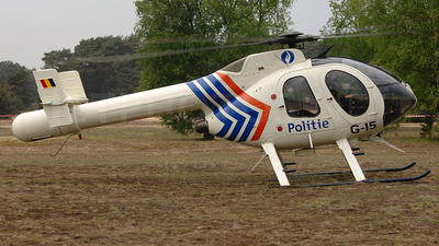 G-15 - McDonnell Douglas MD-520N - Belgium - Federal Police