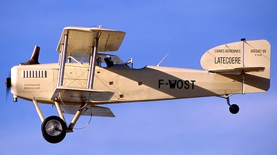 F-WOST - Bréguet XIV - Private
