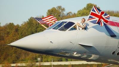 G-BOAG - Aérospatiale/British Aircraft Corporation Concorde - British Airways