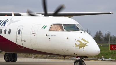A picture of 5NBKU - De Havilland Canada Dash 8400 - Arik Air - © Emiel Pijpers