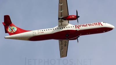 VT-KAK - ATR 72-212A(500) - Kingfisher Airlines