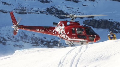 HB-ZKF - Aérospatiale AS 350B3 Ecureuil - Air Zermatt