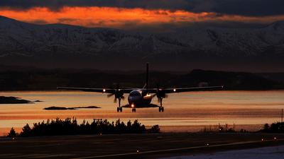 LN-RNC - Fokker 50 - Scandinavian Commuter (SAS)
