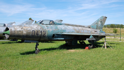 0412 - Mikoyan-Gurevich MiG-21F-13 Fishbed C - Czechoslovakia - Air Force