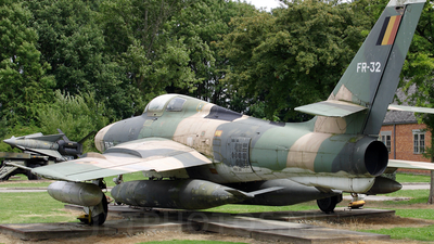 FR-32 - Republic RF-84F Thunderflash - Belgium - Air Force