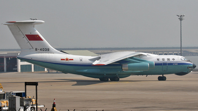 B-4039 - Ilyushin IL-76MD - China - Air Force