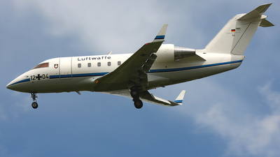 12-04 - Bombardier CL-600-2A12 Challenger 601 - Germany - Air Force