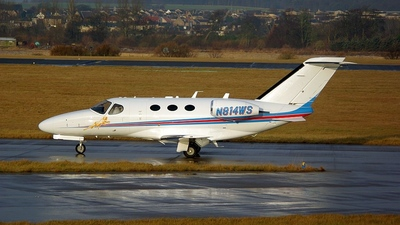 N814WS - Cessna 510 Citation Mustang - Private