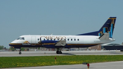 N318CE - Saab 340B - ATA Connection (Chicago Express)