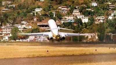 9Y-THQ - McDonnell Douglas MD-83 - BWIA West Indies Airways