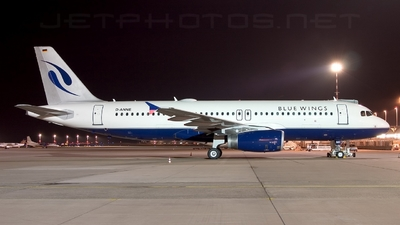 D-ANNE - Airbus A320-232 - Blue Wings