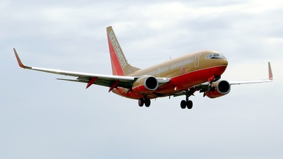 N707SA - Boeing 737-7H4 - Southwest Airlines