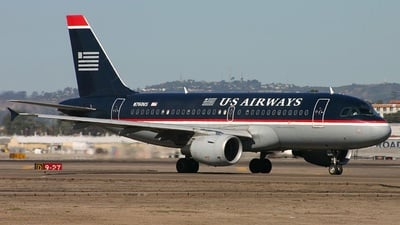 N760US - Airbus A319-112 - US Airways
