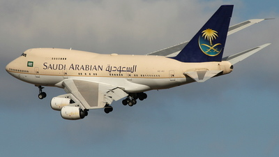 HZ-AIJ - Boeing 747SP-68 - Saudi Arabia - Royal Flight
