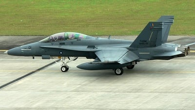 M45-01 - McDonnell Douglas F/A-18D Hornet - Malaysia - Air Force