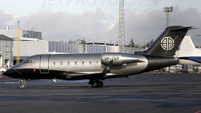 VP-CAP - Bombardier CL-600-2B16 Challenger 604 - Private