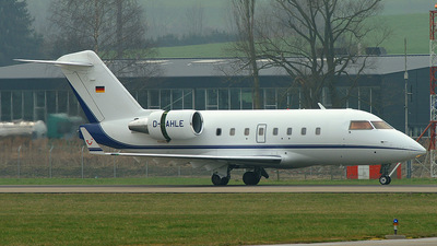 D-AHLE - Bombardier CL-600-2B16 Challenger 604 - Hapag-Lloyd Executive