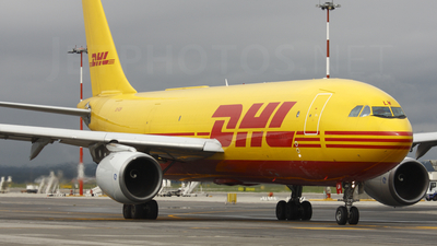 OO-DLW - Airbus A300B4-203(F) - DHL (European Air Transport)
