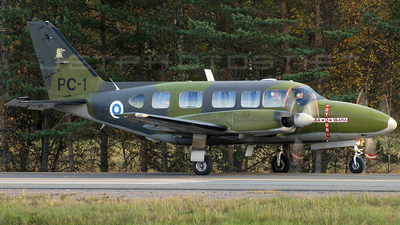 PC-1 - Piper PA-31-350 Chieftain - Finland - Air Force