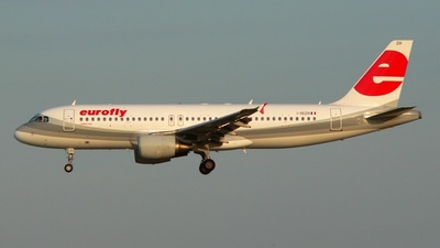 I-EEZH - Airbus A320-214 - Eurofly