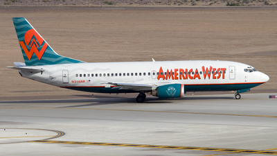 N314AW - Boeing 737-3S3 - America West Airlines