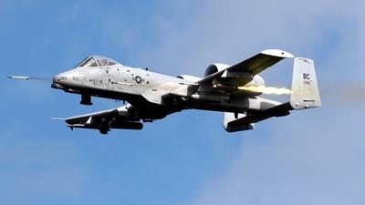 80-0262 - Fairchild A-10A Thunderbolt II - United States - US Air Force (USAF)