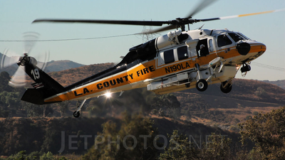 N190LA - Sikorsky S-70A Firehawk - United States - Los Angeles County Fire Department