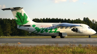 C-GRNU - British Aerospace BAe 146-200 - Air Canada Jazz
