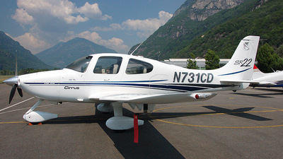 N731CD - Cirrus SR22 - Private