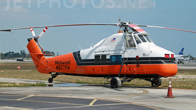 N827MW - Sikorsky S-58 - Midwest Helicopter Airways