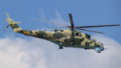 209 - Mil Mi-24V Hind E - Macedonia - Air Force