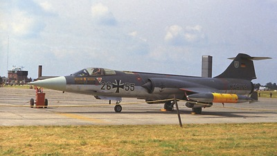 26-55 - Lockheed F-104 Starfighter - Germany - Navy