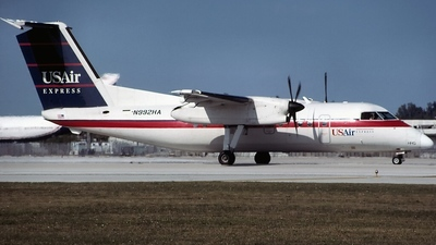 N992HA - Bombardier Dash 8-Q202 - USAir Express (Piedmont Airlines)