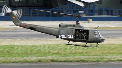 PNC-0731 - Bell UH-1H Huey II - Colombia - Police