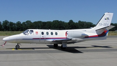 T9-SBA - Cessna 500 Citation - Republic of Srpska - Government