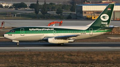 J2-SHB - Boeing 737-201(Adv) - Iraqi Airways