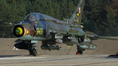 9409 - Sukhoi Su-22M4 Fitter K - Poland - Air Force