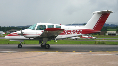 A picture of GBOFC - Beech 76 Duchess - [ME217] - © Ian Howat