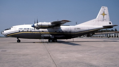 LZ-BRA - Antonov AN-12BP - Bright Aviation Services