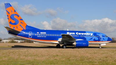 G-EZJJ - Boeing 737-73V - Sun Country Airlines
