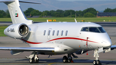 A6-SMS - Bombardier BD-100-1A10 Challenger 300 - Fujairah Aviation