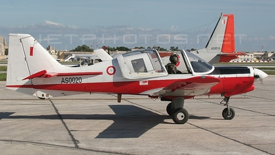 AS0020 - Scottish Aviation Bulldog T.1 - Malta - Armed Forces
