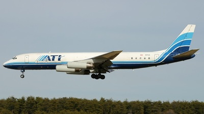 N71CX - Douglas DC-8-62(F) - Air Transport International (ATI)